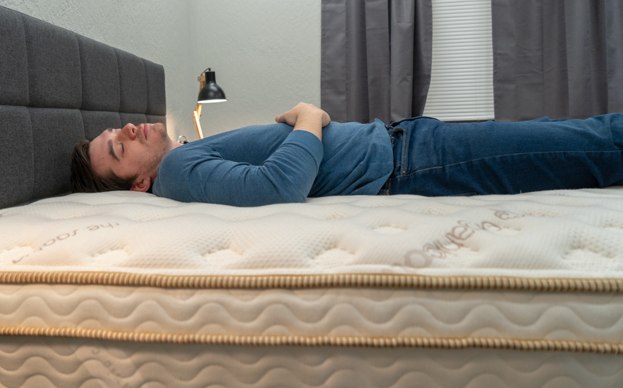 Mattress for back sleepers example